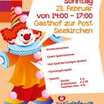 Save the date: unsere Faschingfest 2020